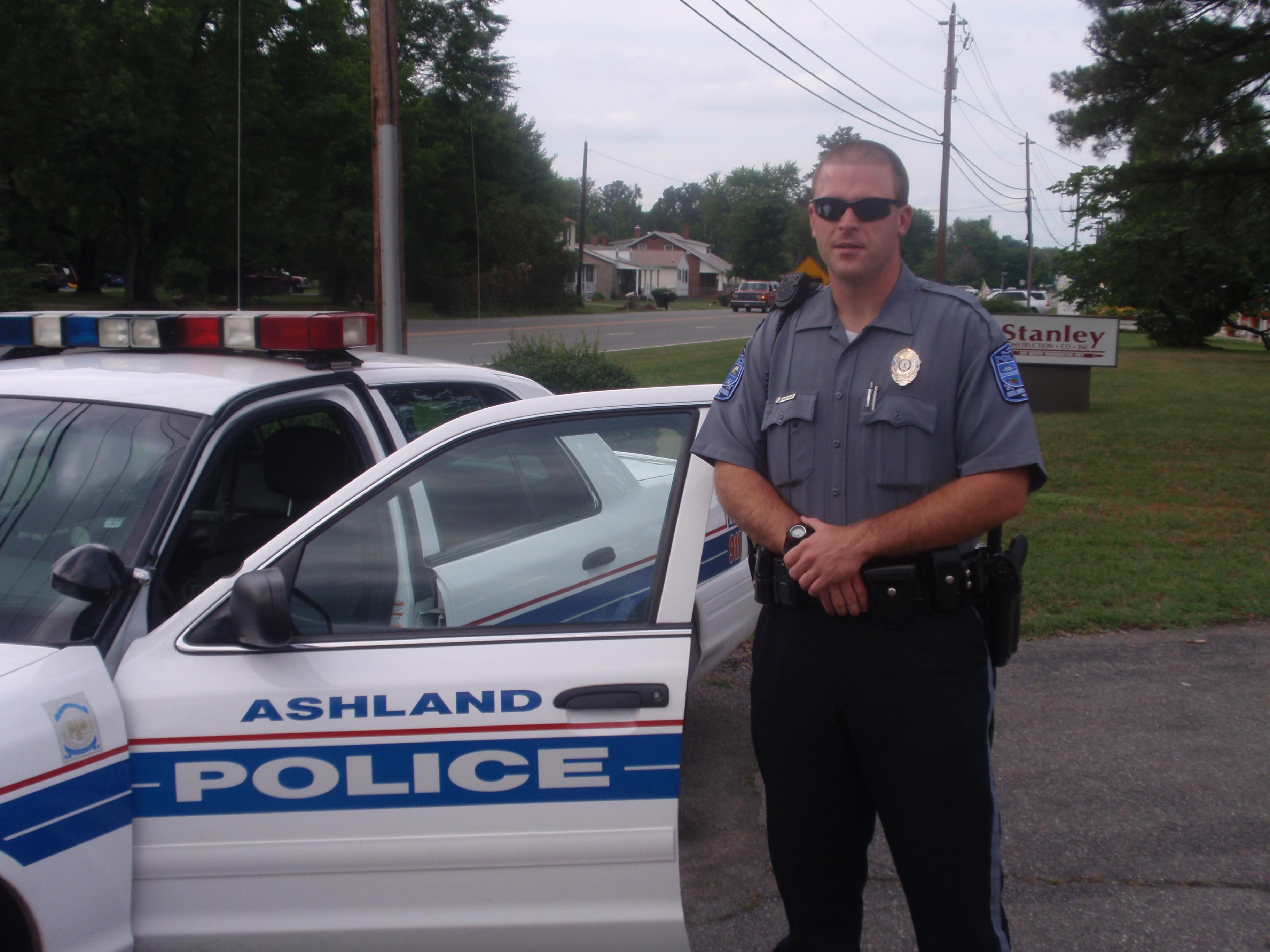 ashland Police Officer