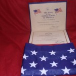 Flag and Cert.